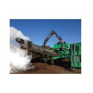 Mobile sludge treatment equipment